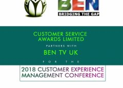 BEN TV UK, PARTNER FOR 2018 CUSTOMER EXPERIENCE MANAGEMENT CONFERENCE